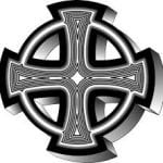 Cruz celta anillos de templarios