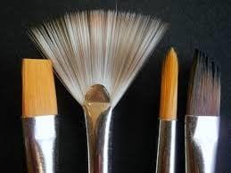 maquillaje de templarios pincel 2