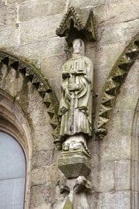Estatua de los caballeros templarios